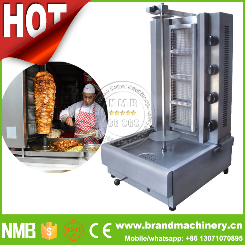 delivious food kebab rotisserie, electric shish kebab machine, doner kebab meat