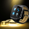Dual core CPU big screen watch phone china goods, 4GB ROM 3g smart watch phone with GPS and camera