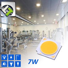 Taiwan Luster 7W Epistar Chip COB LED Warm White