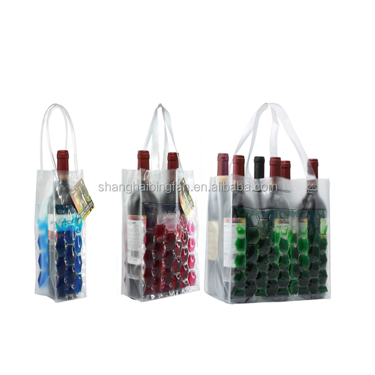 WINE BOTTLE COOLER BAG FOLDABLE FOR USAGE TO CARRY WINE (6 or 9 or 12 UNITS) BOTTLES