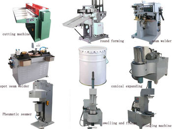 complete tinplate can making line