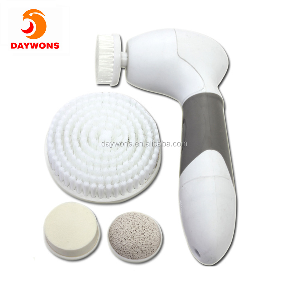 4 in 1 Facial Cleansing Waterproof Cordless Skin Care Brush Deep Cleansing Exfoliation Pore Minimize Tool Set