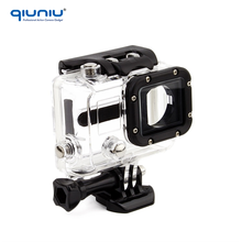 QIUNIU SOONSUN GoPro Hero 3 Skeleton Protective Housing with Backdoor Opening Case for Go Pro Hero3 Side Open Action Camera