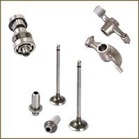 Engine Valves, Guides, Rocker & Camshaft