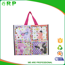 Suitable price new style personalised cheap pp clothes shopping bag