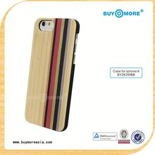 wholesale handmade wooden cell phone case for iphone 6, OEM wood mobile phone case for iphone