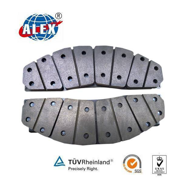 Production Process of Railway Brake Pad