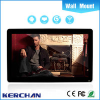 new design lcd monitor usb media player for advertising with iphone style from Shenzhen