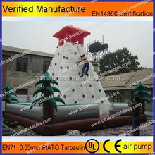 0.55mm PVC tarpaulin inflatable climbing mountain, climbing wall