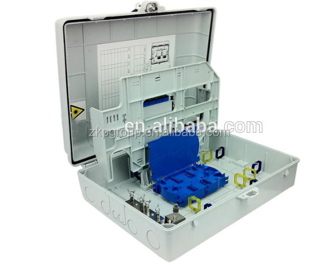 16/24/48 core outdoor optic fiber distribution box CATV network for telecom