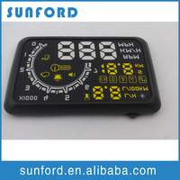 Digital head up display auto speedometer HUD shift power voltmeter