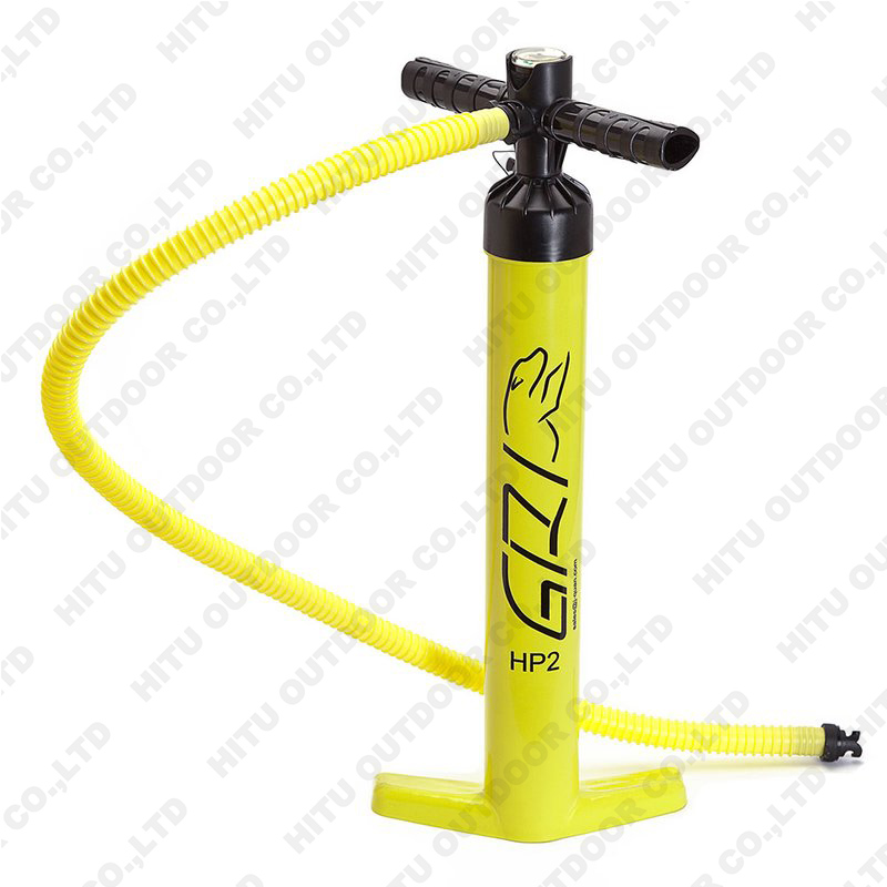 portable and convenient small and fast instruments hand pumps for inflatable boat and sup board