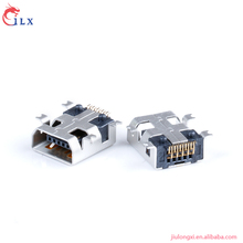 Hot selling 10 pin mini smt usb connector