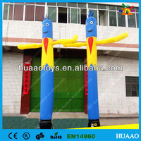 2014 inflatable air dancers inflatable wave man for sale