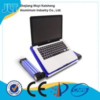 360 degree rotating adjustable aluminum notebook stand folding laptop