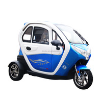 EEC certification adult Mini car 3 wheel tricycle/cheap e trike manufacture in china/enclosed three wheel scooter