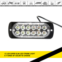 12 LED Flashing Light Emergency Police