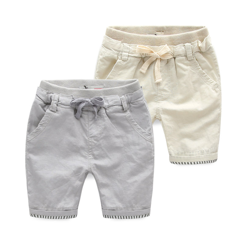 2015 New Products Kids Boys Wear Clothes Khaki Children Shorts From China