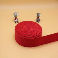 Factory direct sale the red 38mm PP webbing
