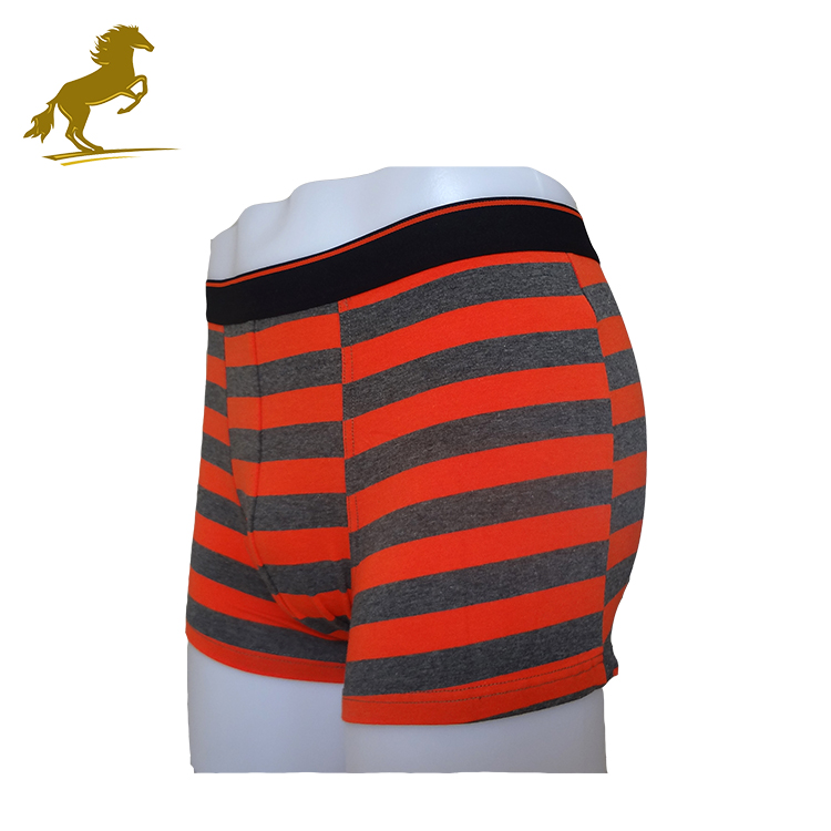 Hot Selling Jacquard Stripes Seamless European Mens Underwear