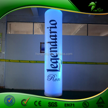 Advertisingg Led Inflatable Pillar / Inflatable Long Tube / Roman Lighted Pillars