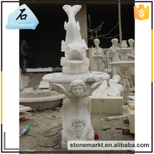 Stone Carvings and Sculptures fish indoor water fountain