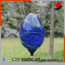 Top Quality Led Solar Blue Glass Garden Stake Lights For Wholesales