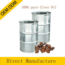 100% pure and natural Clove essential oil in bulk private label offered 180KG