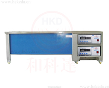 auto sealing element two baths ultrasonic cleaning machine