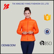 2017 style china manufacturer women winter clothing oem to keep warm
