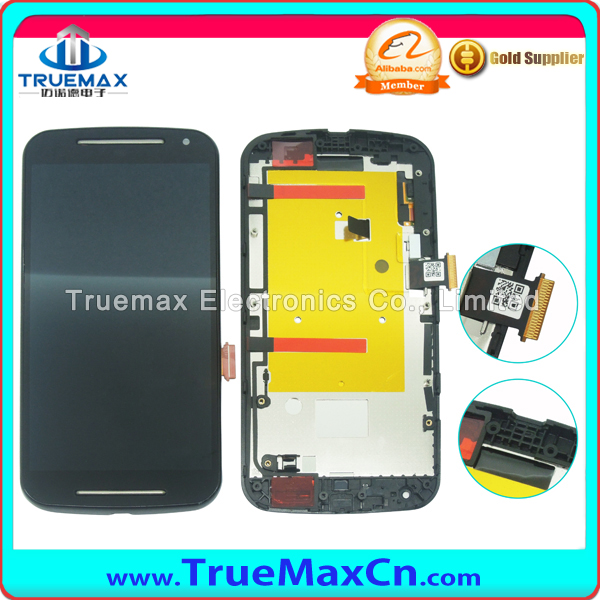 Factory Wholesale for Motorola Moto G2 LCD Touch Screen Digitizer, for Moto G2 LCD