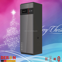 High COP all in one heat pump air to hot water, floor heating/ room cooling with buffer tank(Deron, 3-5kw, 100-300L)