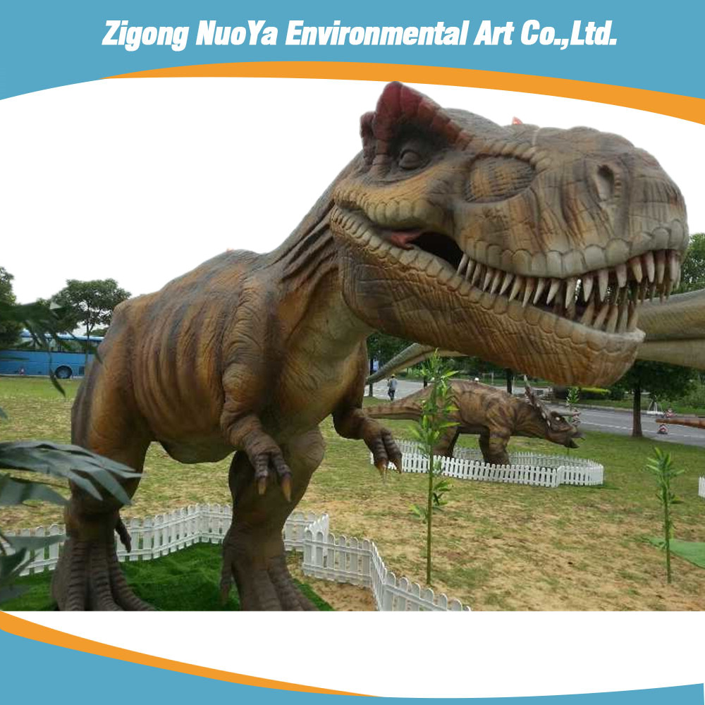 Amusement Park 3D Model Animatronic Dinosaur For Sale
