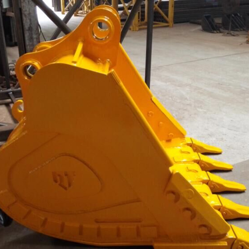 Excavator DH225LC-9 1 CBM rock bucket with teeth and pin