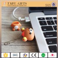 Custom 3D mini bear 8GB special usb flash drive