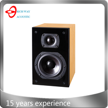 VEN-P41B wood cabinet audio speaker with 4 inch driver Paino finish cabinet made in China