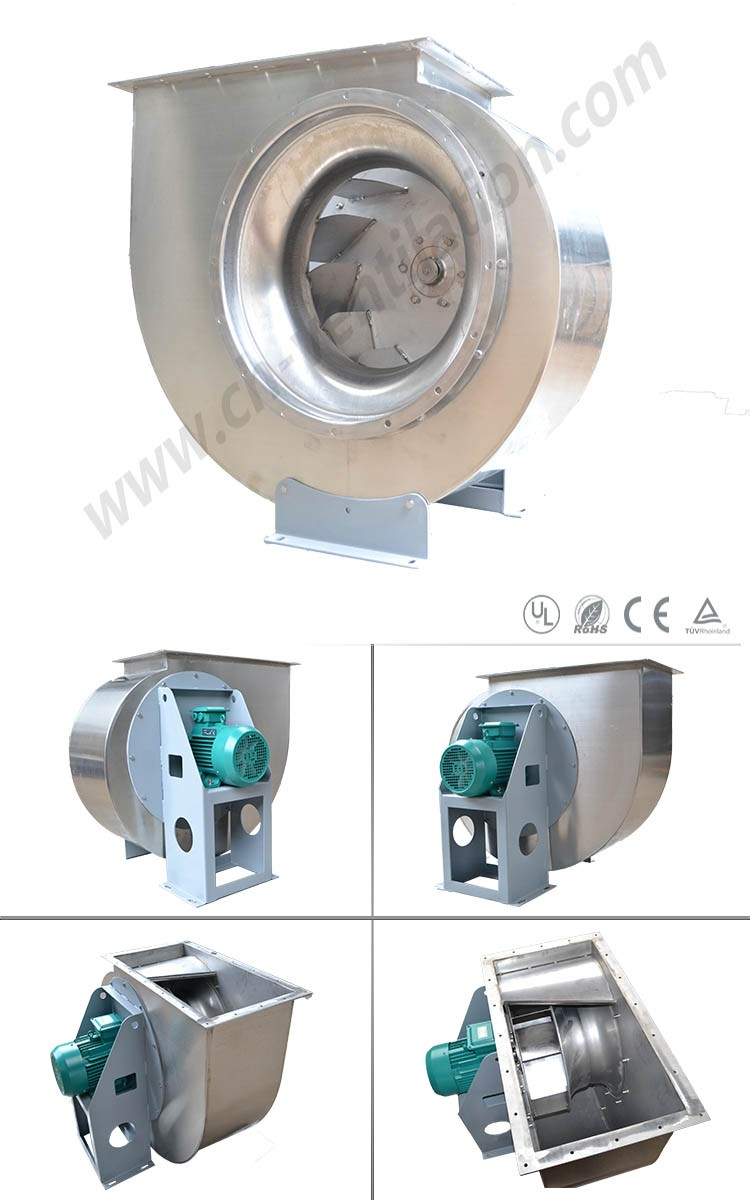 HVAC Stainless Steel factory Industrial Air Cooler Fan Centrifugal Fan