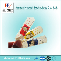 Free Samples PE Cartoon Surgical Custom Printed Band Aid