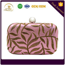 Best quality wholesale fashion ladies small clutch bag evening bag for women