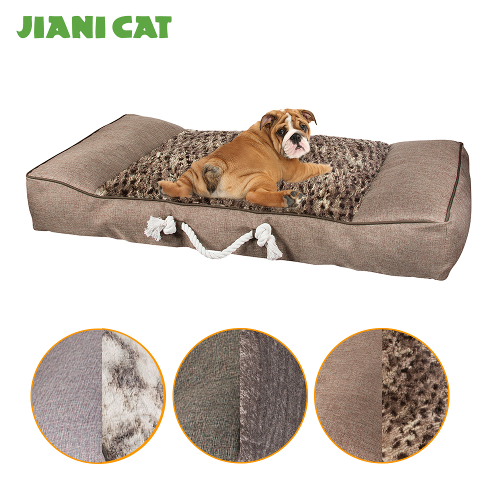 china supplier luxury warm pet mat dog cushion