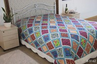 geometry pattern microfiber design quilt adults home use microfiber quilt