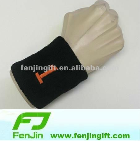 embroidery sport cotton terry sweatband