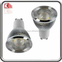 portable spotlight with stand cob led spotlight led spot light 5W GU10 COB LED Spot Light Bulb Cold Forging Tech light
