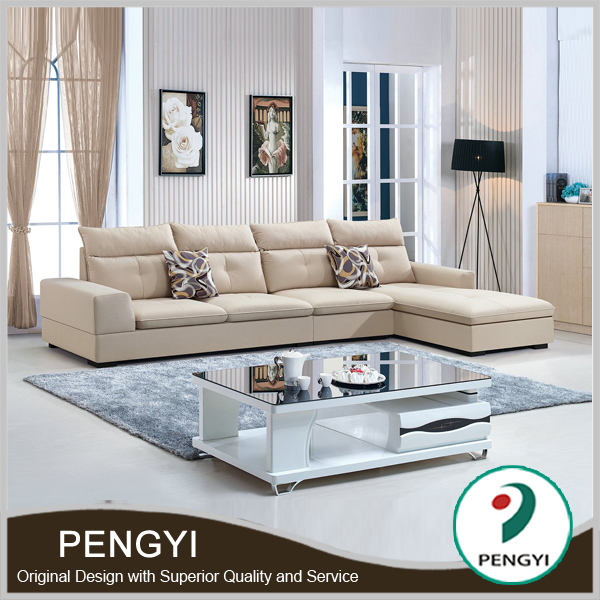 Modern design fabric sofa sala set,fabric sofa set designs,fabric modern l shape sofa PY523