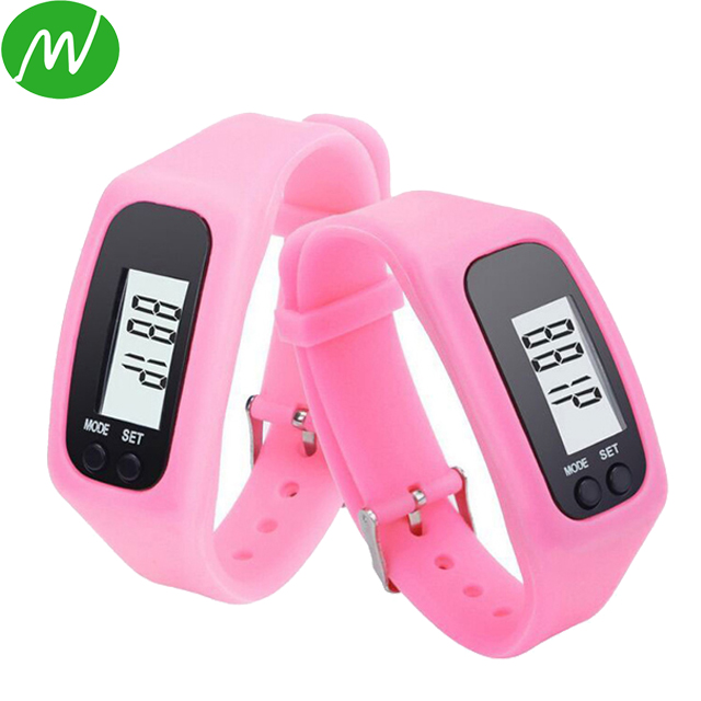 2017 Inventory Multifunctions Silicone Digital Step Counter