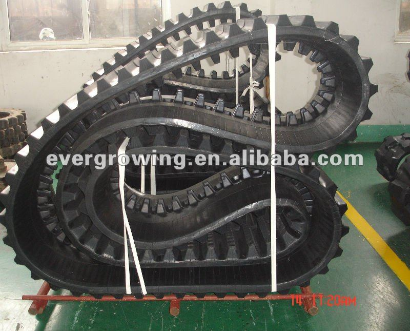Rubber Track for mini-excavator, dumper, crawler loader, agriculture machiner