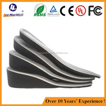 High quality height increasing insoles shoe lift shock absorbing memory foam heel lift
