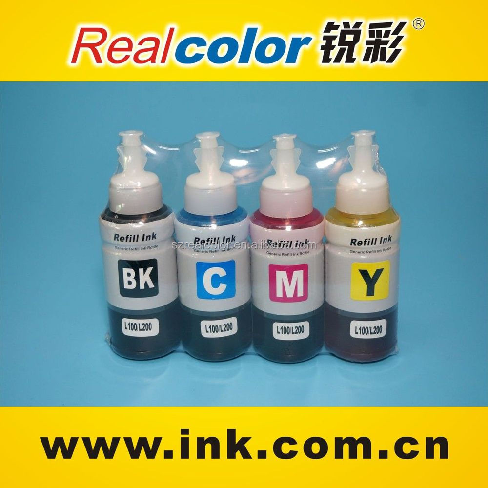 2015 Excellent Quality printer ink refillable black pigment ink for ciss ink system