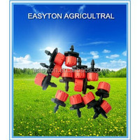 Flux Adjustable Irrigation Dripper For Agriculture