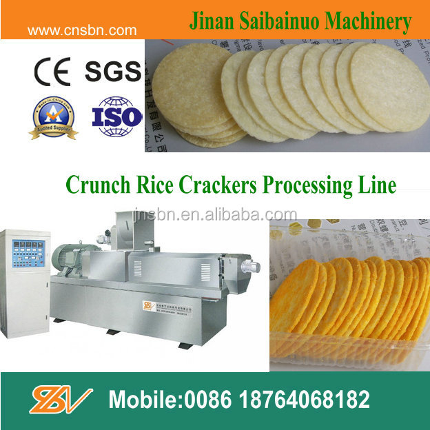 Automatic Thailand Rice Crackers Chips Machine